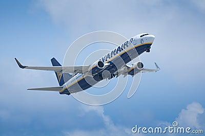 Ryanair Take Off Editorial Image