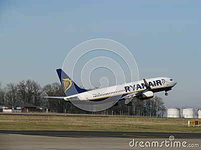 Ryanair takes off Editorial Image