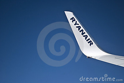 Ryanair winglet Editorial Stock Image