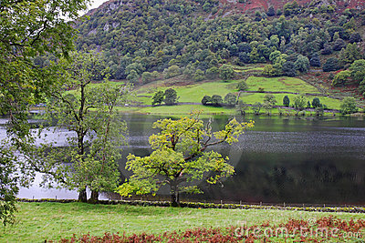 Rydal Water in the English Lake District