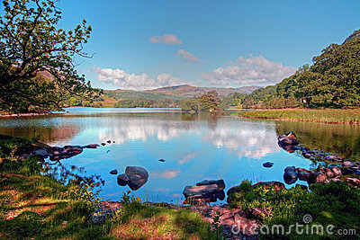 Rydal Water in Summer