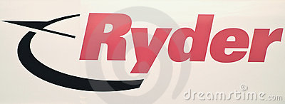Ryder truck logo Editorial Stock Photo