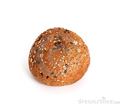 Rye roll with sesame
