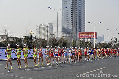 Rymde porslinlekar 2012 jiangs london olympic Redaktionell Arkivfoto