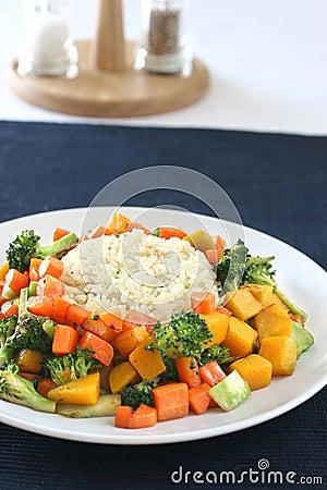 Ryżowa warzywa