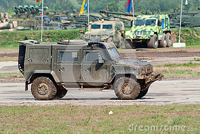 Rys armored vehicle Editorial Stock Photo