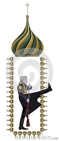 Rysk soldat