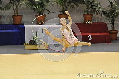 Rythmic Gymnastic, Delphine Ledoux Editorial Photography