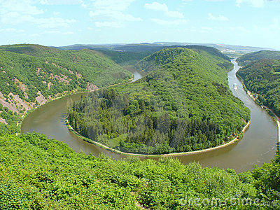 Rzeka mosel - Saar - ruwer