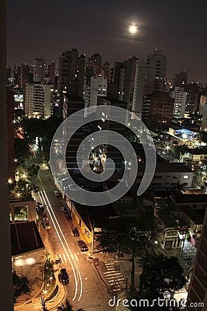 São Paulo by Moonlight