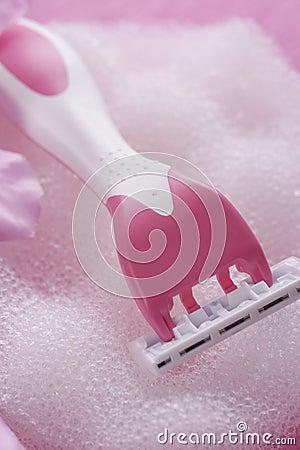 Säubern Sie und rasieren Sie