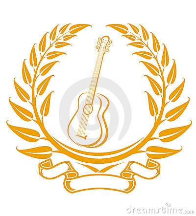 Símbolo de la guitarra