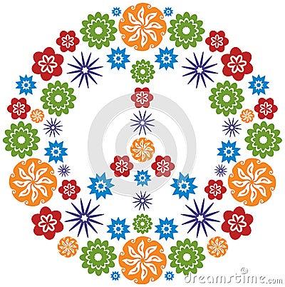 EL CLUB DE PINFANILLA (1ª parte) Simbolo-de-la-paz-y-del-amor-hecho-de-flores-multicolor-thumb13583580