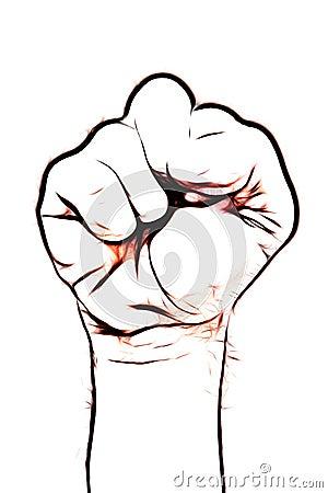 Símbolo del puño