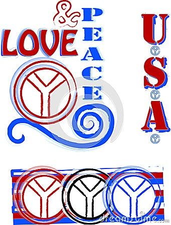 amor y paz. simbolo amor y paz. simbolos