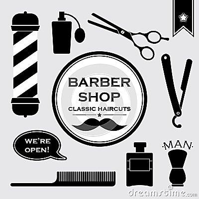 Barber Shop Plano : Mais imagens similares de ` S?mbolos do vintage do barbeiro no grupo ...