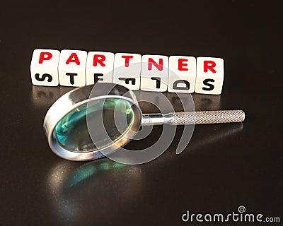 Söka efter en partner