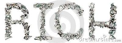 Bogactwo - Crimped 100$ rachunki
