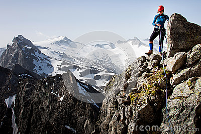 S élever de montagne