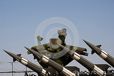 S-125M Neva-M rocket system Editorial Photography