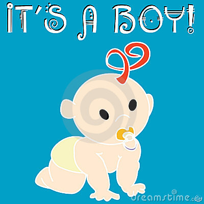It s a boy card