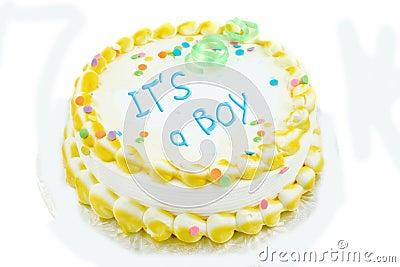 It s a boy festive cake