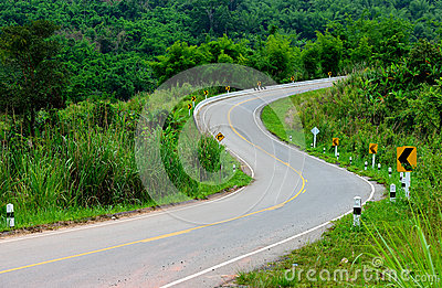 The S curve road