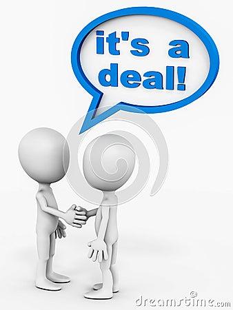It s a deal