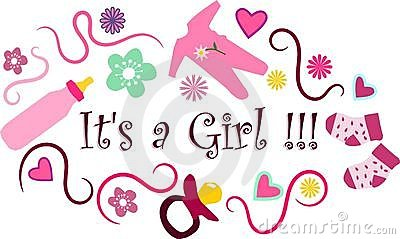 its a girl royalty free stock images image 14366839