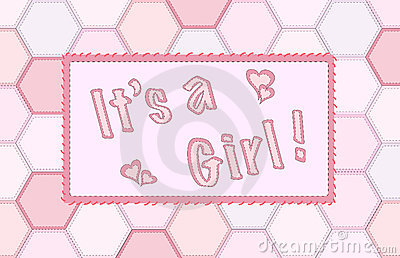 It s a girl patchwork