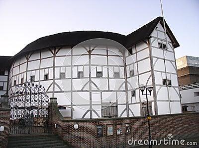 S globu Shakespeare teatr