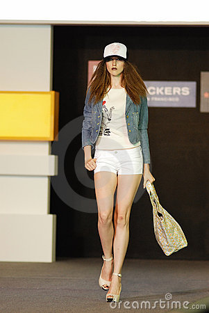 S gpore fashion festival 2008 Editorial Image