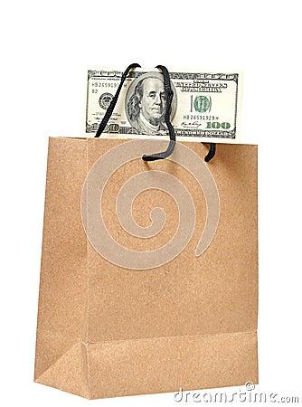 It s money in the bag