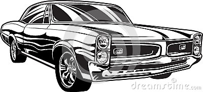 1960s Muscle Car