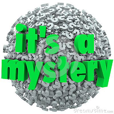 It s a Mystery Question Mark Ball Uncertainty Unknown
