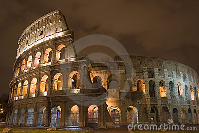 s nachts Colosseum