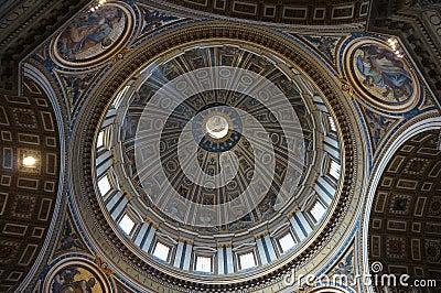 S. Pietro Basilica ceiling