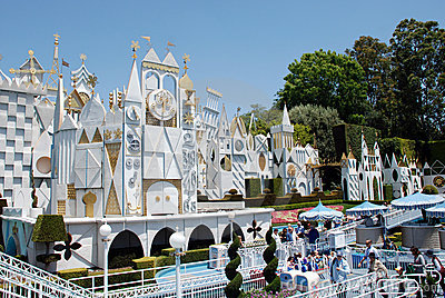 It s a small world in disneyland Editorial Stock Photo