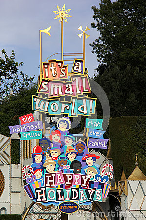 It s A Small World During Holidays Editorial Photo
