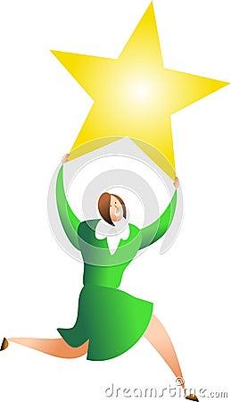 She s a star