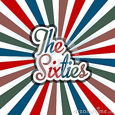 60s Vintage Art Background  image logo