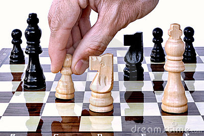 It s whites turn on chess board