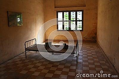 S21 Prison bed