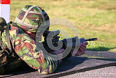 SA 80 firing