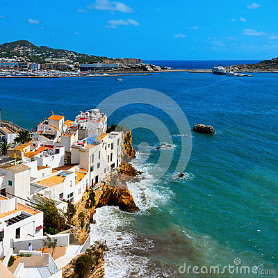Free Sa Penya District In Ibiza Town, Balearic Islands, Spain Stock Photo - 29511200