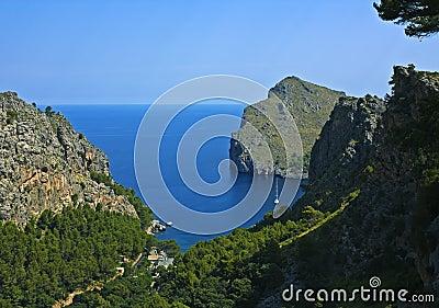Sa tranquilo Calobra, Majorca
