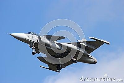 SAAB J-39 Gripen Editorial Photography