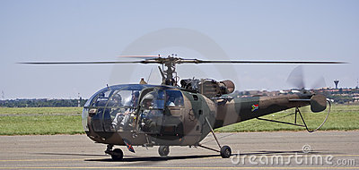 SAAF 628 - Sud Aviation SE-316B Alouette III Editorial Photography