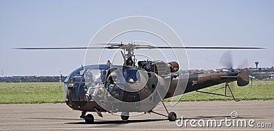 SAAF 628 - Sud Aviation SE-316B Alouette III Editorial Photography
