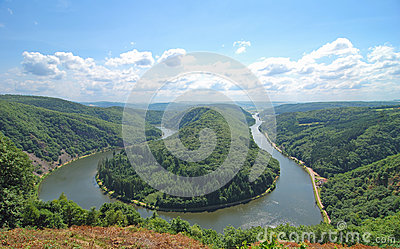 Saar Bow,Saar River,Germany